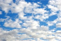 Cclouds on the sky Stock Photography