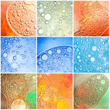 Ccolor bubbles backgrounds Royalty Free Stock Photos