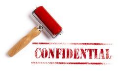 Cconfidential Fotografía de archivo libre de regalías