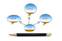 Ccp diagram Zdjęcie Royalty Free