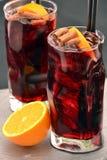 Cóctel del alcohólico de la cola Foto de archivo libre de regalías