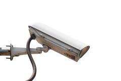CCTV为ourdoor使用,好保护房子免受窃贼 免版税库存照片