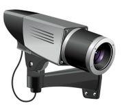 CCTV传染媒介例证 免版税库存图片