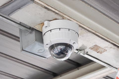 CCTV圆顶样式 免版税库存照片