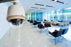 CCTV或监视操作 免版税库存图片