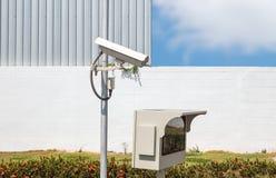 CCTV监视器 免版税图库摄影