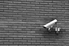 CCTV,外在摄像头,物产Survelliance 库存图片
