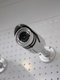 Cctv-Überwachungskamera. Stockfoto