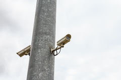 CCTV ζεύγους στοκ φωτογραφίες με δικαίωμα ελεύθερης χρήσης