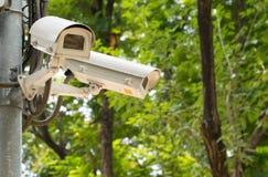 CCTV που καταγράφει τα σημαντικά γεγονότα Στοκ Εικόνες