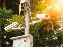 CCTV делая светлая мягкую и нерезкость Стоковое Фото