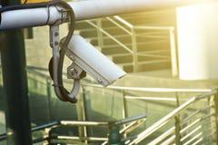 CCTV замкнутой телевизионной системы для использования безопасности к гену Стоковое фото RF