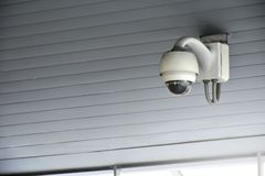 CCTV замкнутой телевизионной системы для использования безопасности к гену Стоковое Фото