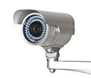 cctv камеры стоковое фото