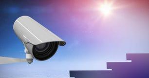 CCTV контролируемый на ноче стоковое изображение rf