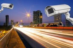 CCTV с движением Стоковое фото RF