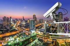 CCTV с движением Стоковое Изображение