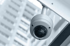 CCTV φωτογραφικών μηχανών Στοκ Φωτογραφία