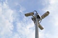 CCTV arkivfoton