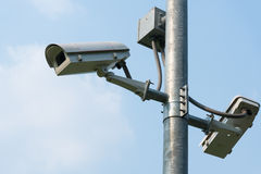 CCTV Immagine Stock