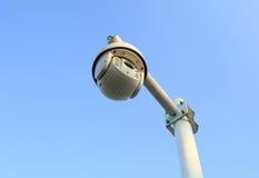 cctv安全监控相机,录影监视器 免版税库存照片