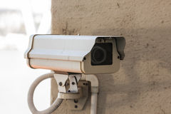 背景照相机cctv高例证查出质量白色 图库摄影