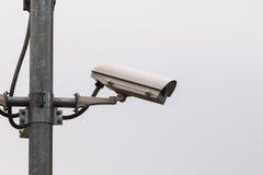 背景照相机cctv高例证查出质量白色 免版税库存图片