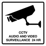 CCTV audio and video surveillance Royalty Free Stock Image