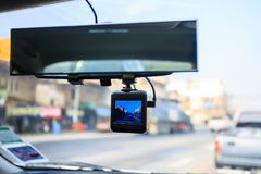 Cctv-Autokamera lizenzfreie stockfotos