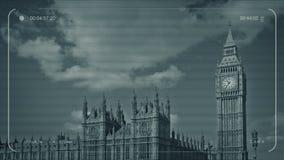 CCTV Ben And Houses Of Parliament grande almacen de video