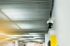 CCTV in building at airport terminal ,Security camera monitor for privacy. CCTV in building at airport terminal,Security camera monitor for privacy Stock Photos