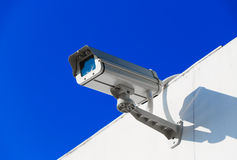 CCTV on building Stock Photography