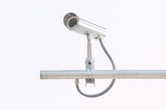 CCTV on building Royalty Free Stock Image