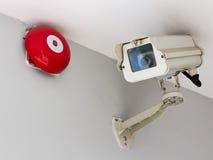 CCTV, cámaras de seguridad Foto de archivo libre de regalías