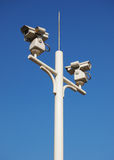 Cctv Camera. Over blue sky Royalty Free Stock Images