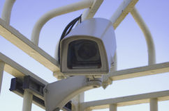 CCTV camera. Close up Royalty Free Stock Photography
