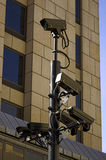 CCTV camera. Close up Stock Photos