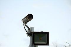 CCTV camera royalty free stock photo
