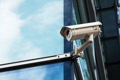 Cctv camera office security system Stock Photos