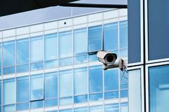 Cctv camera office security system Stock Photo