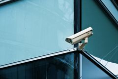 Cctv camera office security system Stock Images