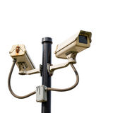 CcTV camera old Stock Image