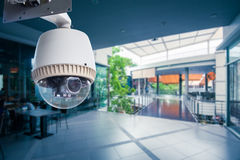 CCTV Camera Operating Stock Photography