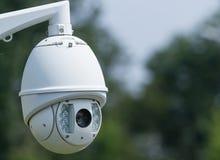 CCTV camera round Royalty Free Stock Photos