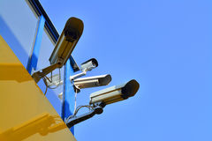 Cctv camera Stock Photography