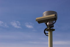 Cctv camera security surveillance video Stock Photos