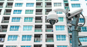 CCTV Camera. Security camera and urban video Royalty Free Stock Photography