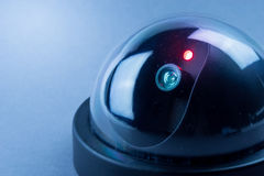 CCTV camera in studio Stock Image