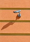 CCTV camera surveillance Stock Image