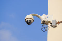CCTV camera Royalty Free Stock Photo